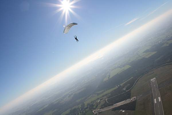 atterro cool ecole parachutisme